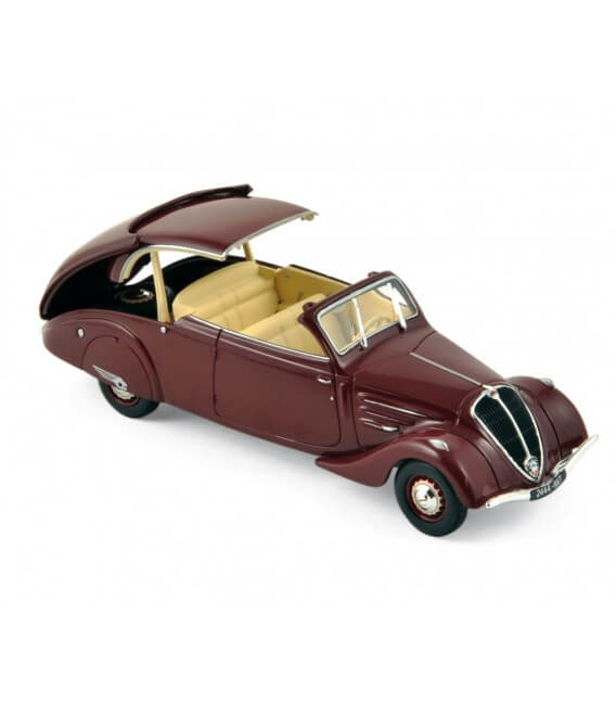 Peugeot 402 Eclipse 1937 - Dark Red