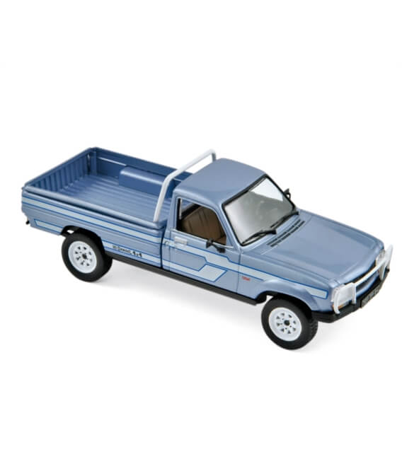 Peugeot 504 Pick Up 4x4 Dangel California 1985 Light blue metallic