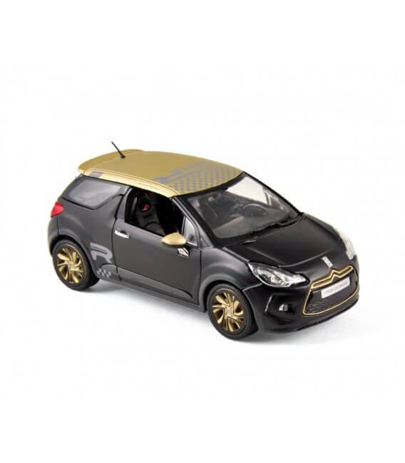 Citroën DS3 Racing 2013 - Black Matt & Gold