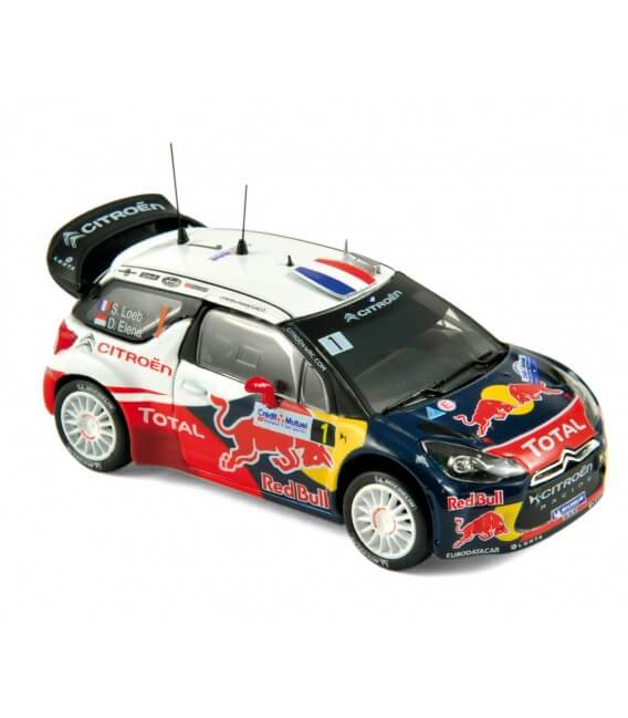 Citroën DS3 WRC - World Champion - Rallye de France 2012 - Loeb / Ele