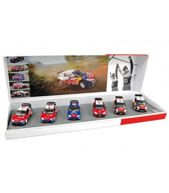 Gift Box Loeb/Elena Winner for the 6th consecutive year of WRC in2009