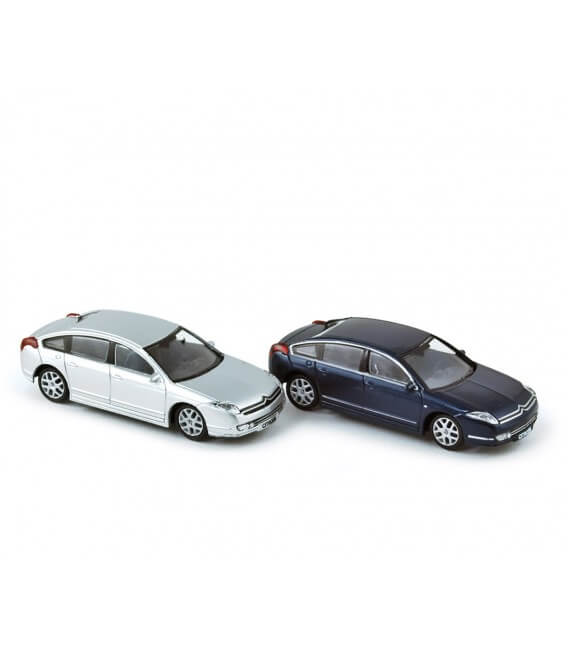 Citroen C6 2005 (x4) - Blue & Iron Grey