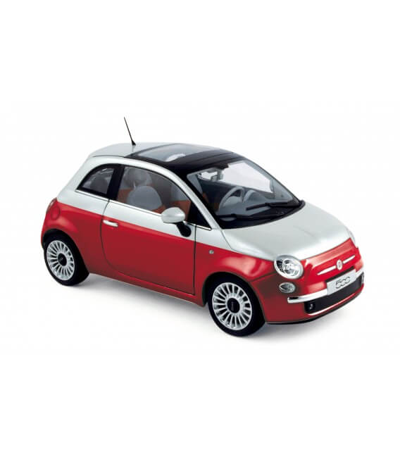 Fiat 500 2011 - Red & White ANNULE