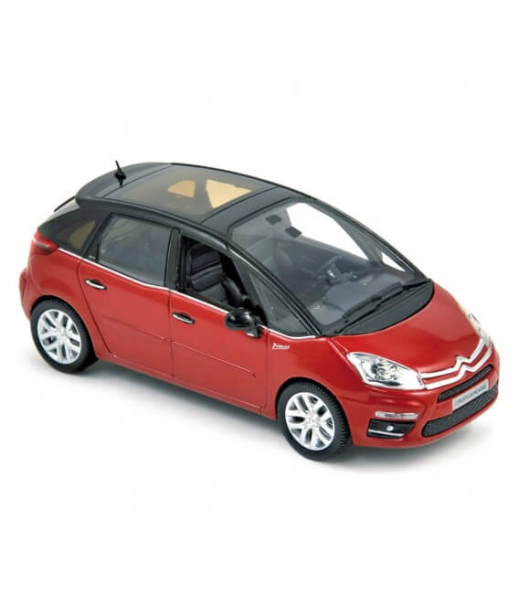 Citroën C4 Picasso 2011 - Lucifer Red & Onyx Black