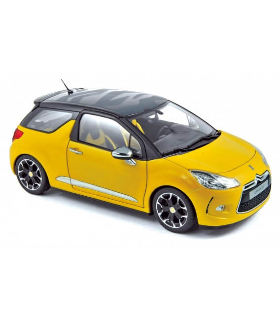 Citroën DS3 2010- Pegase Yellow with Black Roof