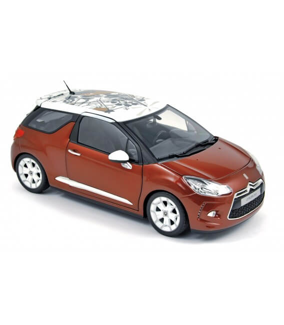 Citroën DS3 2010 - Sanguine red with white roof