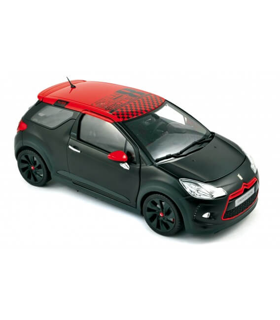 Citroën DS3 Racing Loeb 2012- Black Matt & Red