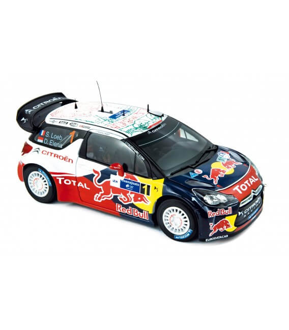 Citroën DS3 WRC - Winner Rallye du Mexique 2011 - Loeb / Elena