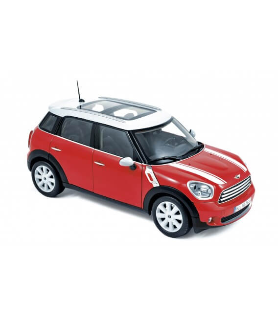 Mini Cooper 2010 - Red with white roof