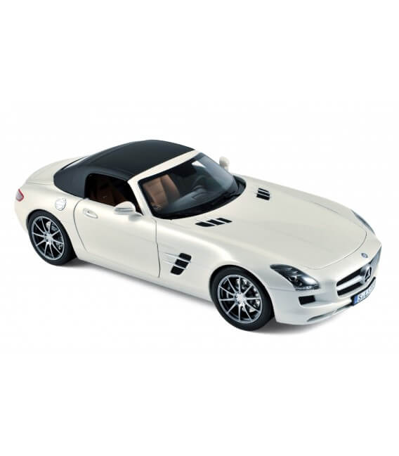Mercedes-Benz SLS AMG Roadster 2011 - White Metallic