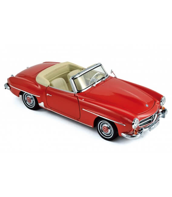 Mercedes-Benz 190 SL 1957 - Red
