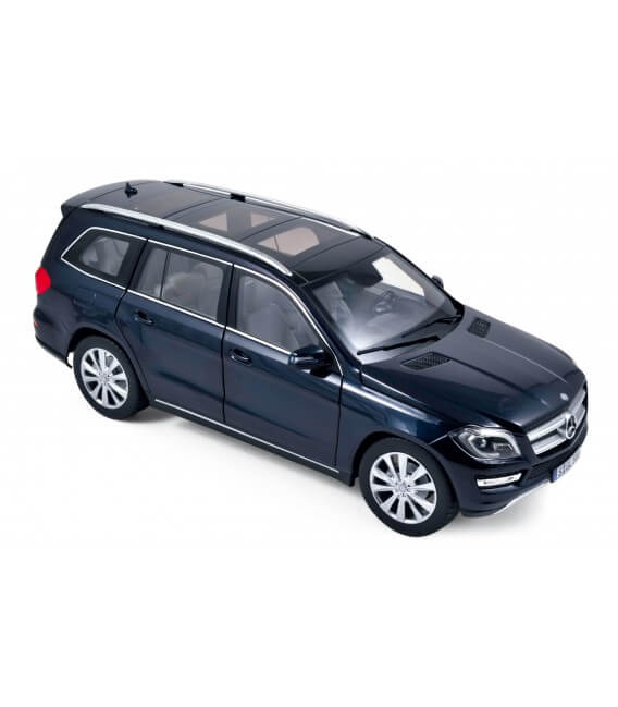 Mercedes-Benz GL 500 2012 - Cavansit blue