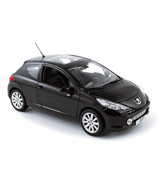 Peugeot 207 Berline 2006 - Obsidien Black