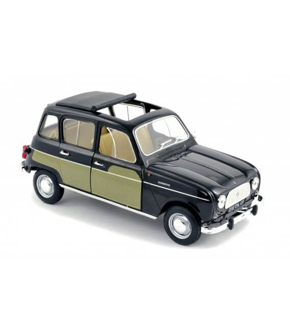 Renault 4L Parisienne 1963 - Black & Yellow
