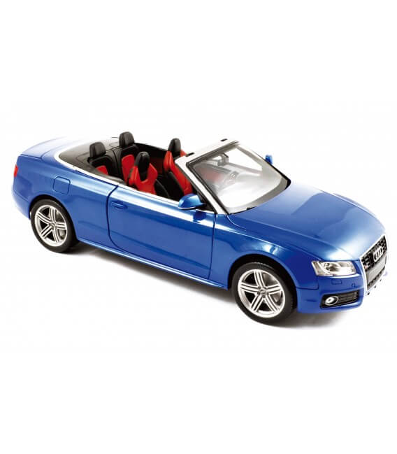 Audi S5 convertible 2009 - Sprintblau Pearleffect