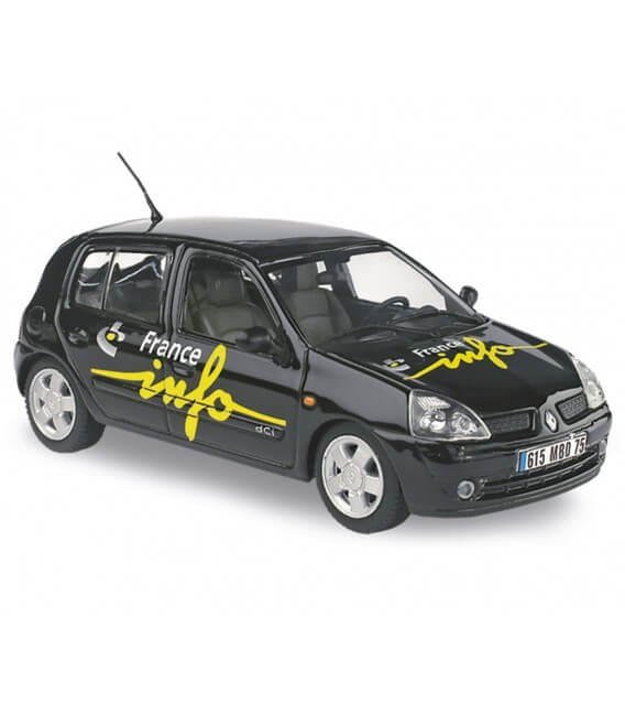 Renault Clio - 'France Info»