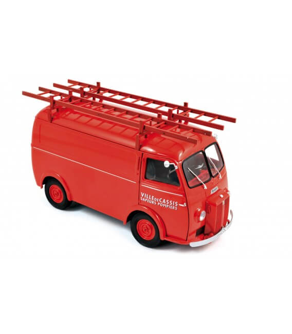 Peugeot D4A 1955 with ladders - 'Pompiers'