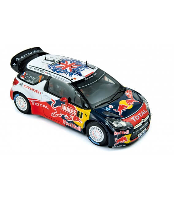 Citroën DS3 WRC - World Champion Rallye GB 2011 - Loeb / Elena