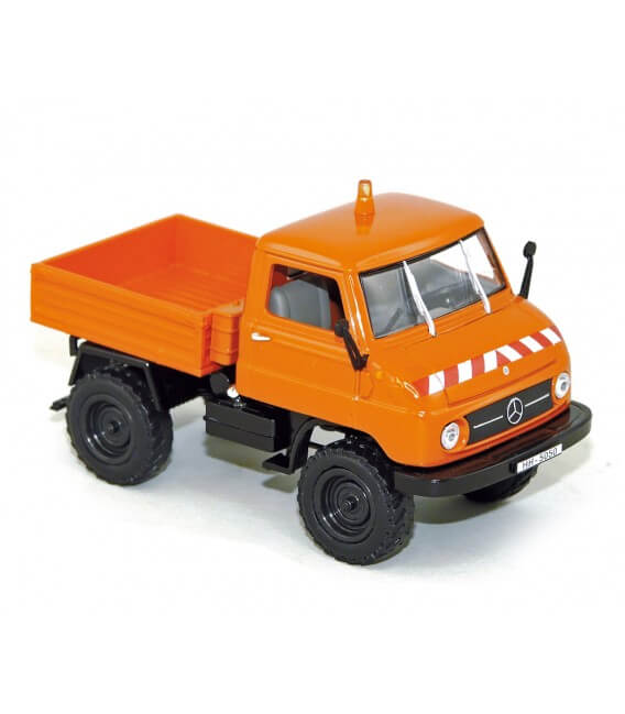 Mercedes Benz Unimog U-411 1956 - Orange