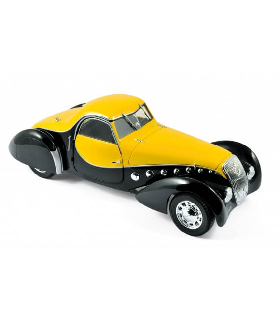 Peugeot 302 Darl'Mat Coupé 1937 - Black & Yellow