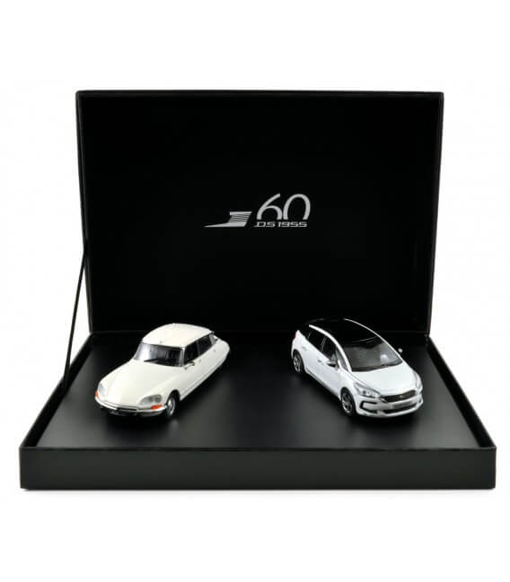 Coffret Citroën DS 23 Pallas 1973 + DS 5 2015 - White versions