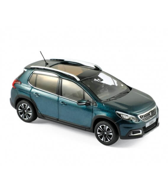 Peugeot 2008 2016 - Emerald Crystal Blue