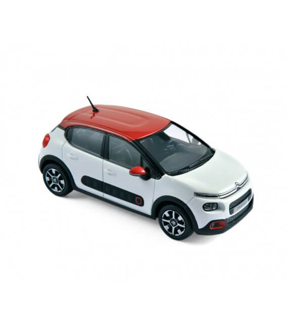 Citroën C3 2016 - Banquise White & Aden Red Roof