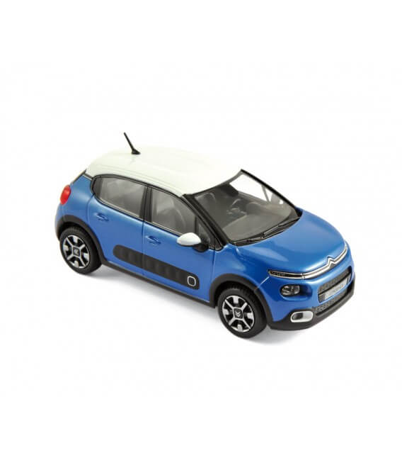 Citroën C3 2016 - Cobalt Blue & White Roof