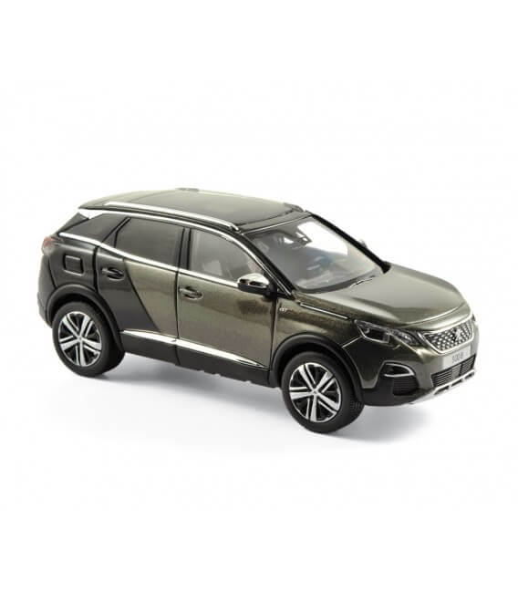 Peugeot 3008 GT Coupe Franche 2016 - Amazonite Grey