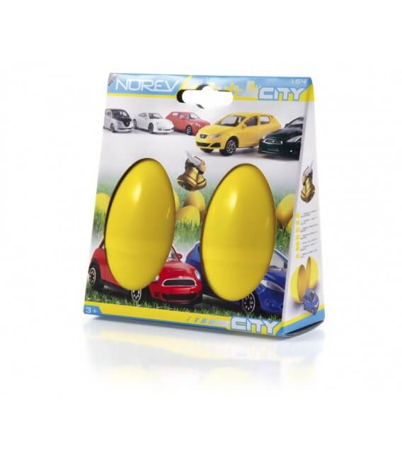 Pack 2 oeufs surprise miniatures 3 Inches