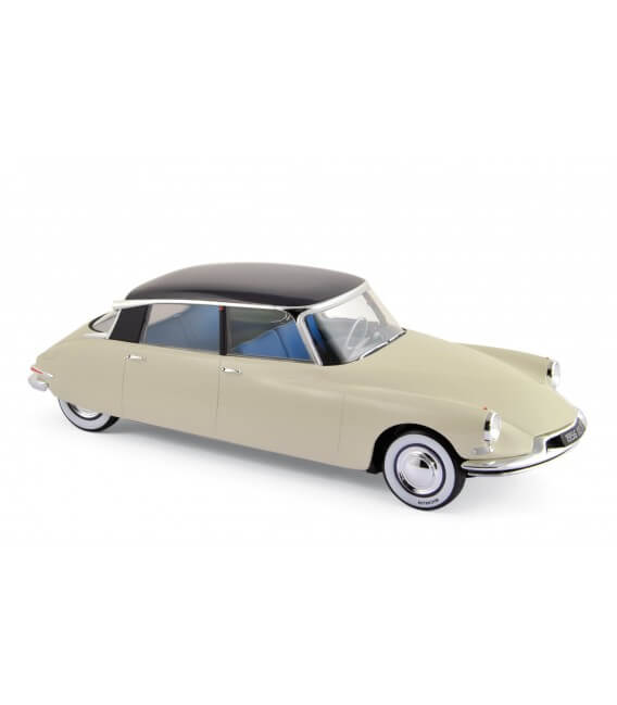 "Citroën DS 19 1956 - Champagne & Aubergine -""Salon de Paris-Oct 1955"""