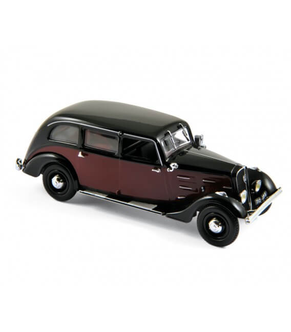 Peugeot 401 Longue taxi 1935 - Dark Red / Black