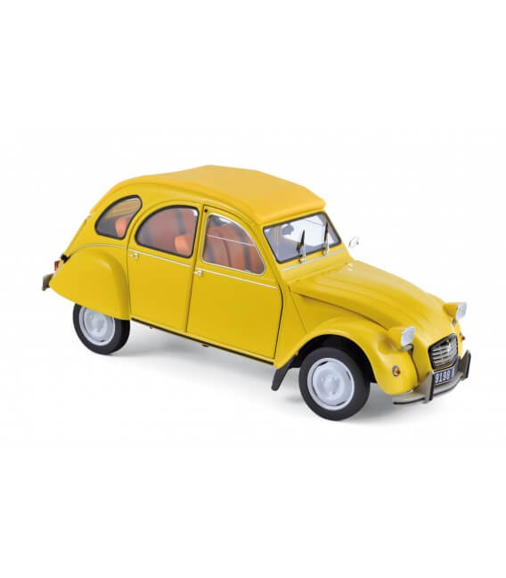 Citroën 2CV 6 Club 1979 - Mimosa Yellow