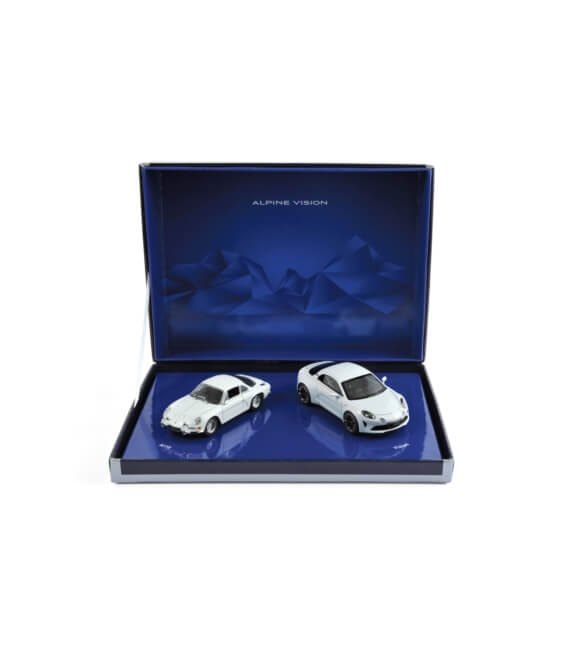 Coffret Alpine A110 & Vision 2016- L.E. 500 pcs (2 cars)