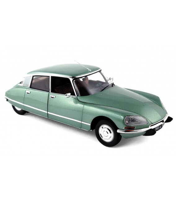 Citroën DS 23 Pallas Vert Argenté 1/18 Version Luxe 1972