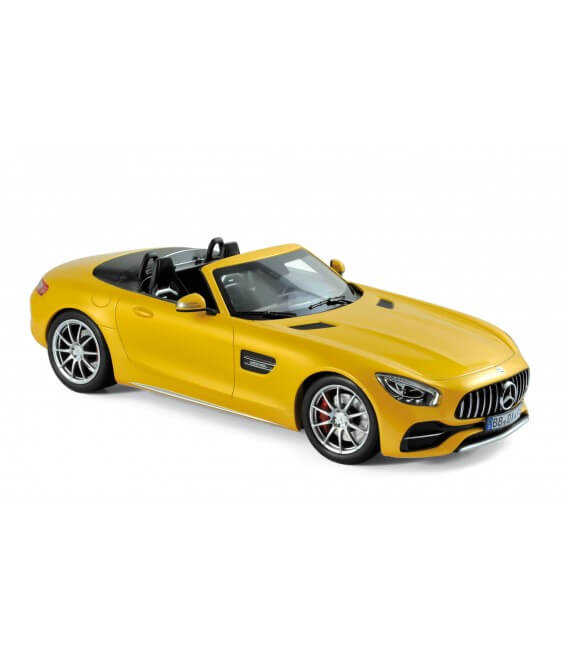 Mercedes-AMG GT C Roadster 2017 - Yellow metallic