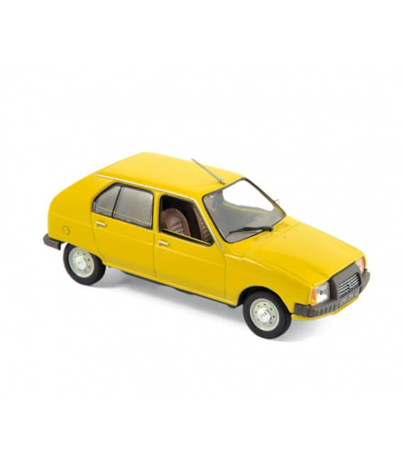 Citroen Visa Club 1979 - Mimosa Yellow
