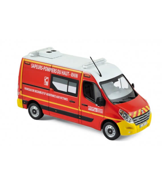 """Renault Master 2011 - """"Pompiers - VSAV"""" Yellow bumpers"""