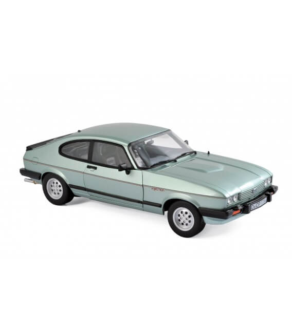 Ford Capri Mk.III 2.8 Injection 1982 - Crystal Green metallic