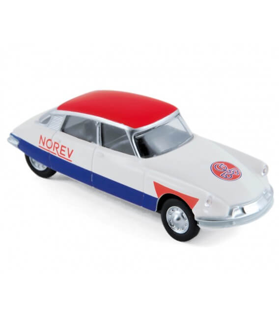 "Citroën DS19 1958 ""Cycliste - Blue White Red"""