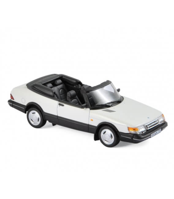 Saab 900 Turbo 16 Cabriolet 1992 White