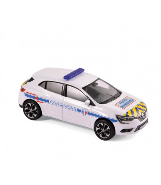 "Renault Megane 2016 - ""Police Municipale"" Yellow & Blue stripping"