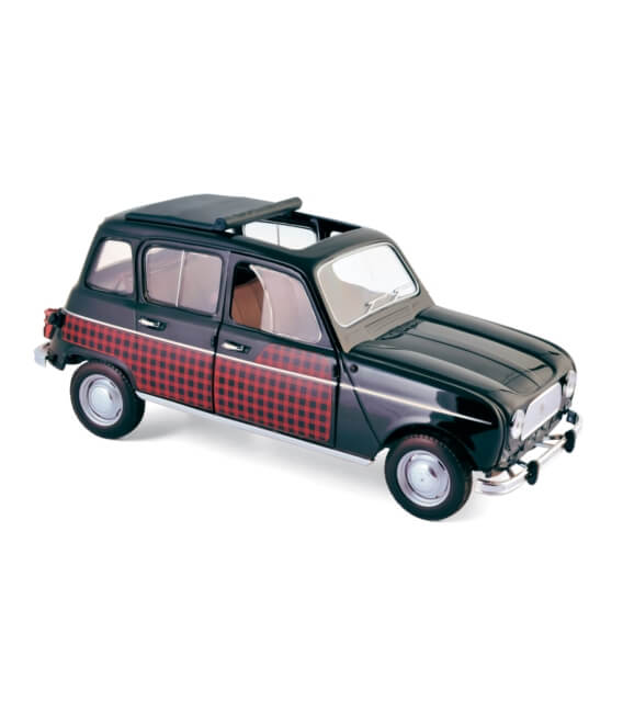 Renault 4 Parisienne 1964 - Black & Red