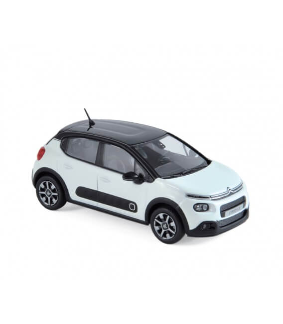 Citroën C3 2016 - Banquise White & Black Roof