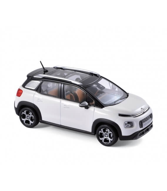 Citroën C3 Aircross 2017 - Pearl White & Silver deco / Black Roof