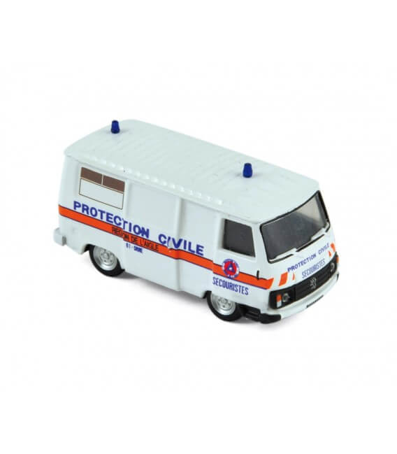 Peugeot J9 1982 (x4) - 'Protection Civile'