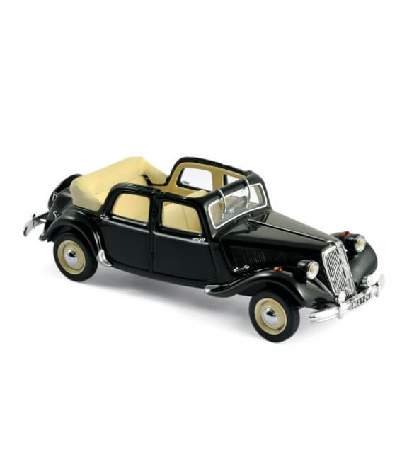 Citroën Traction 15- Six Découvrable A.E.A.T 1951 - Black