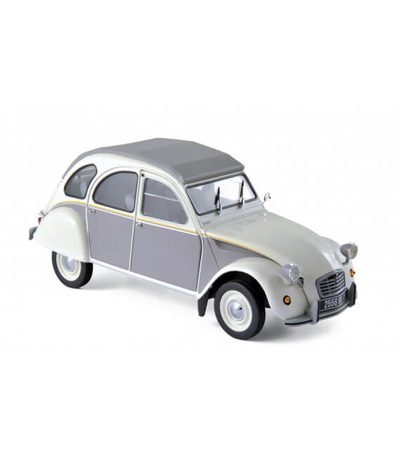 Citroën 2CV Dolly 1985 - Meije White & Cormoran Grey