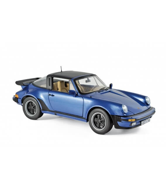 Porsche 911 Turbo Targa 1987 - Blue metallic
