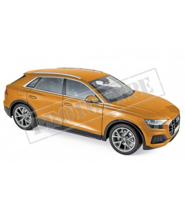 Audi Q8 2018 - Orange metallic